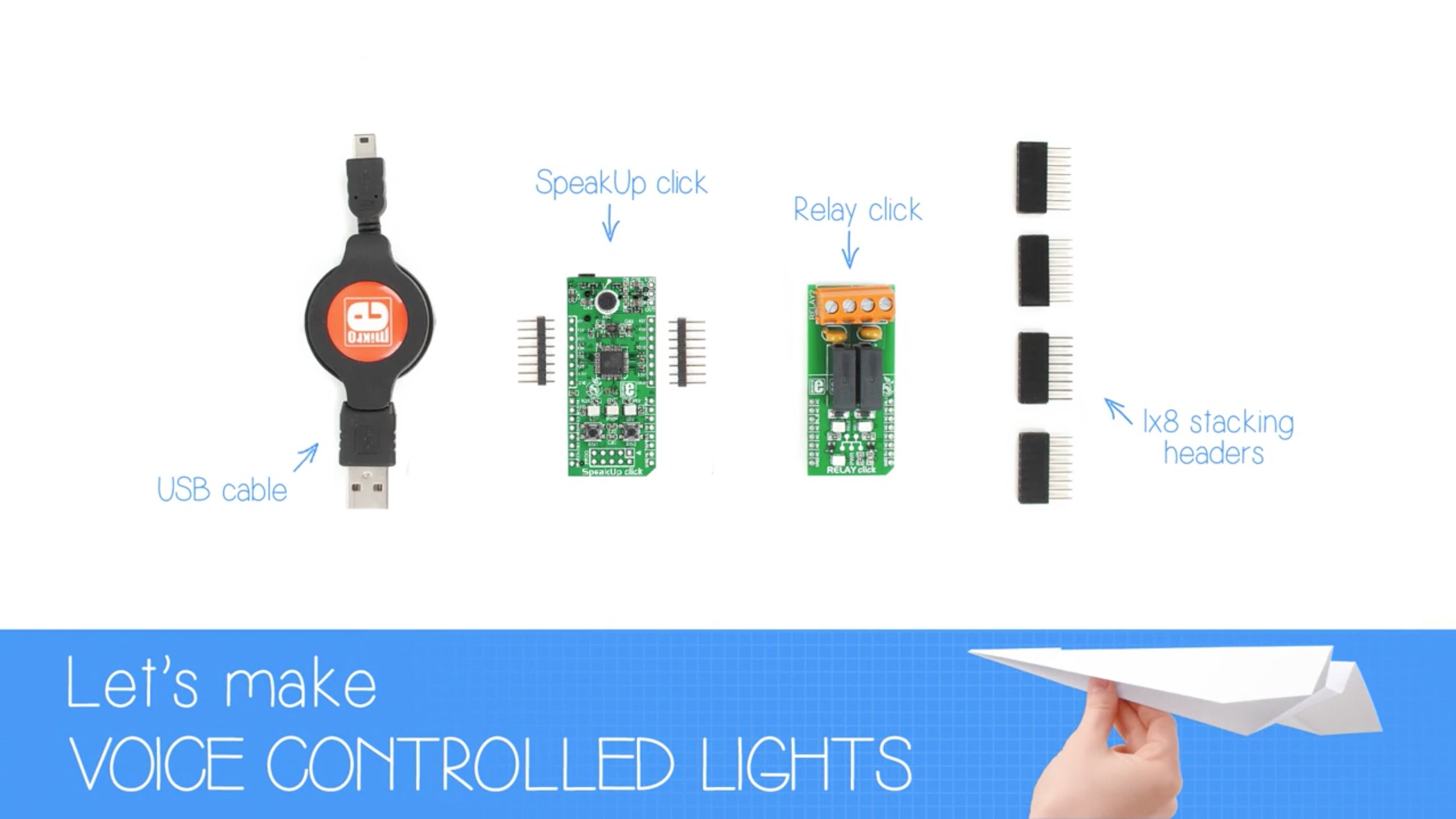 Let's make voice controlled lights!