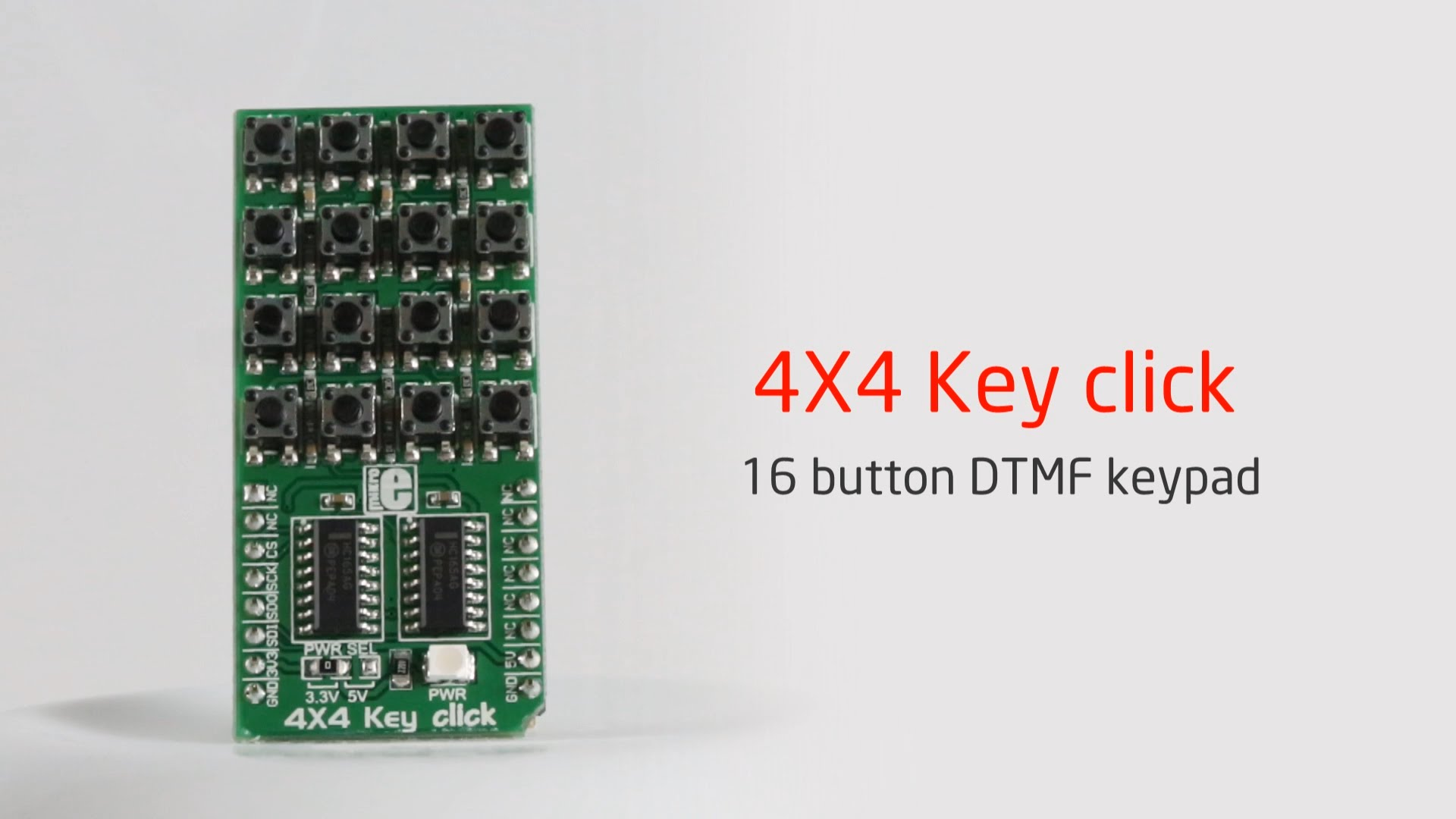 4x4 Key click released