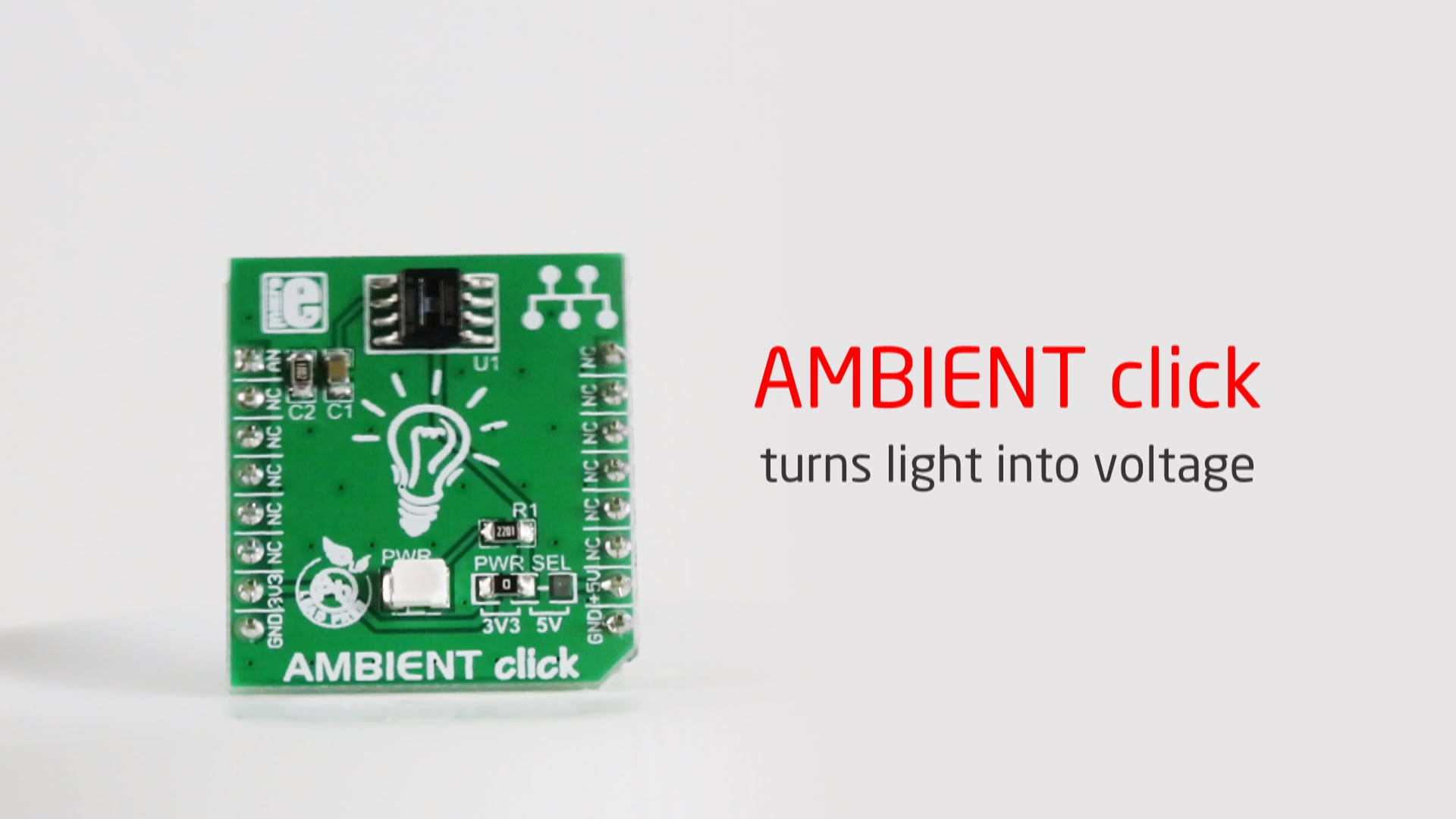 Ambient click released