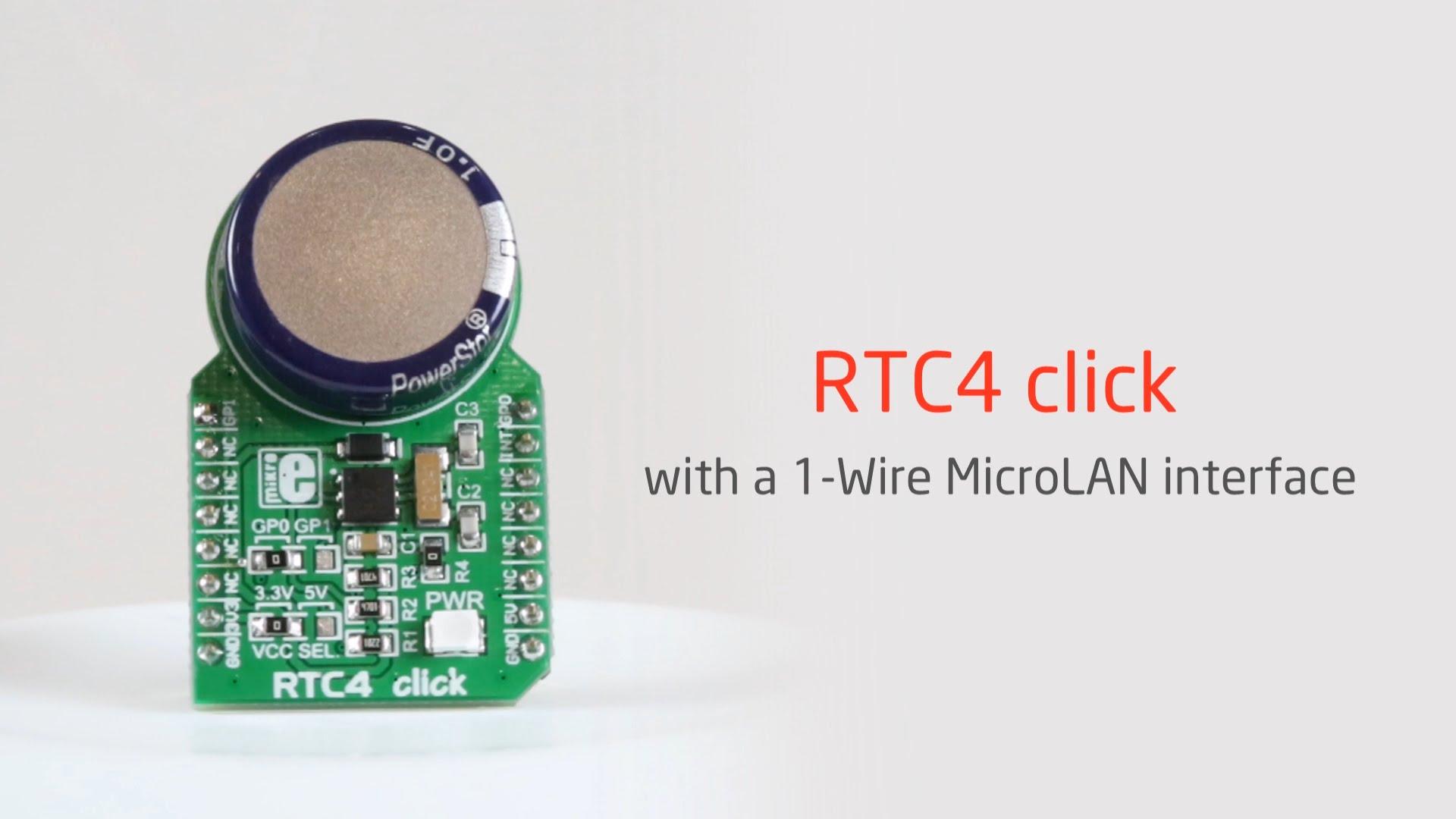 RTC4 click released