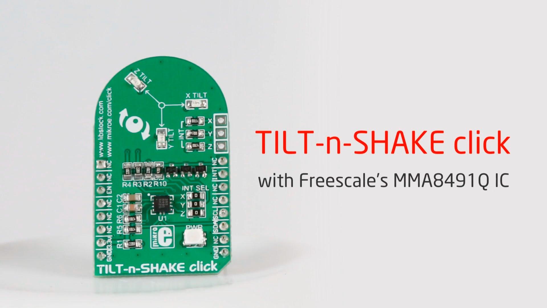 TILT-n-SHAKE click released