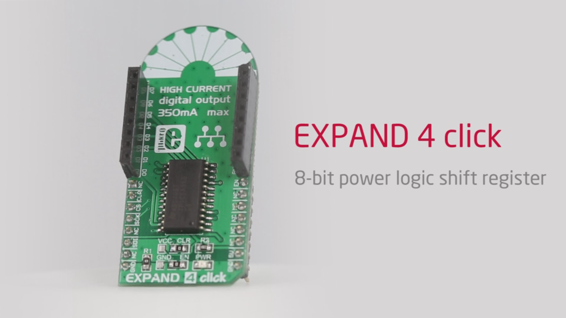 Expand 4 click handles high power peripherals