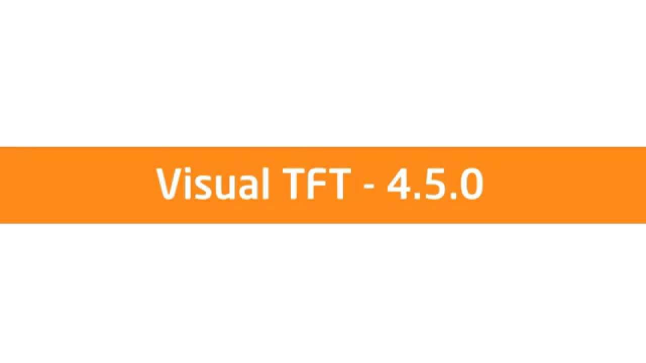 VisualTFT 4.5.0 — A huge leap for GUI design