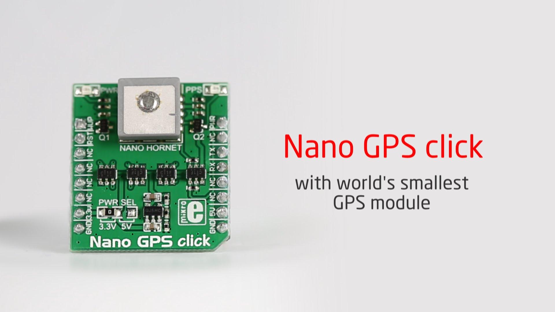 Nano GPS click released