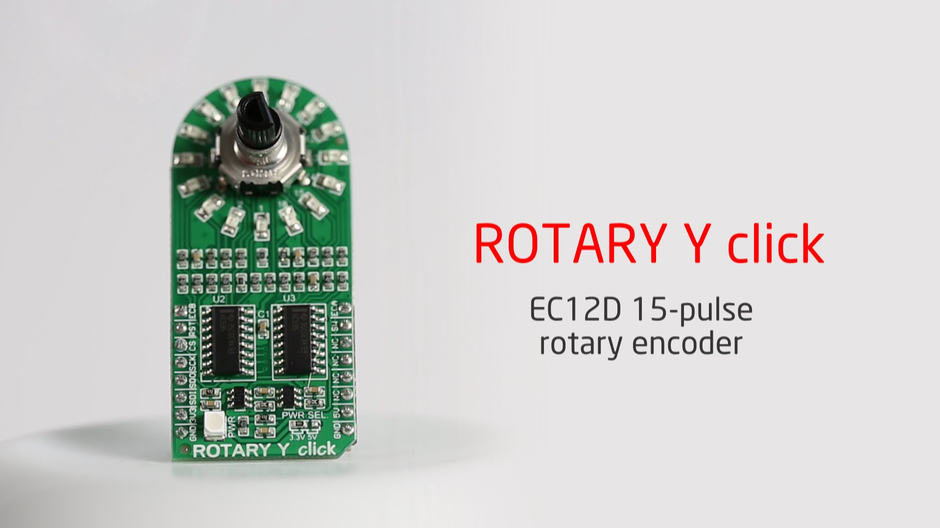 Rotary Y click released