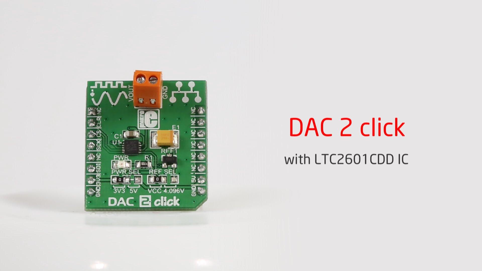 DAC2 click released