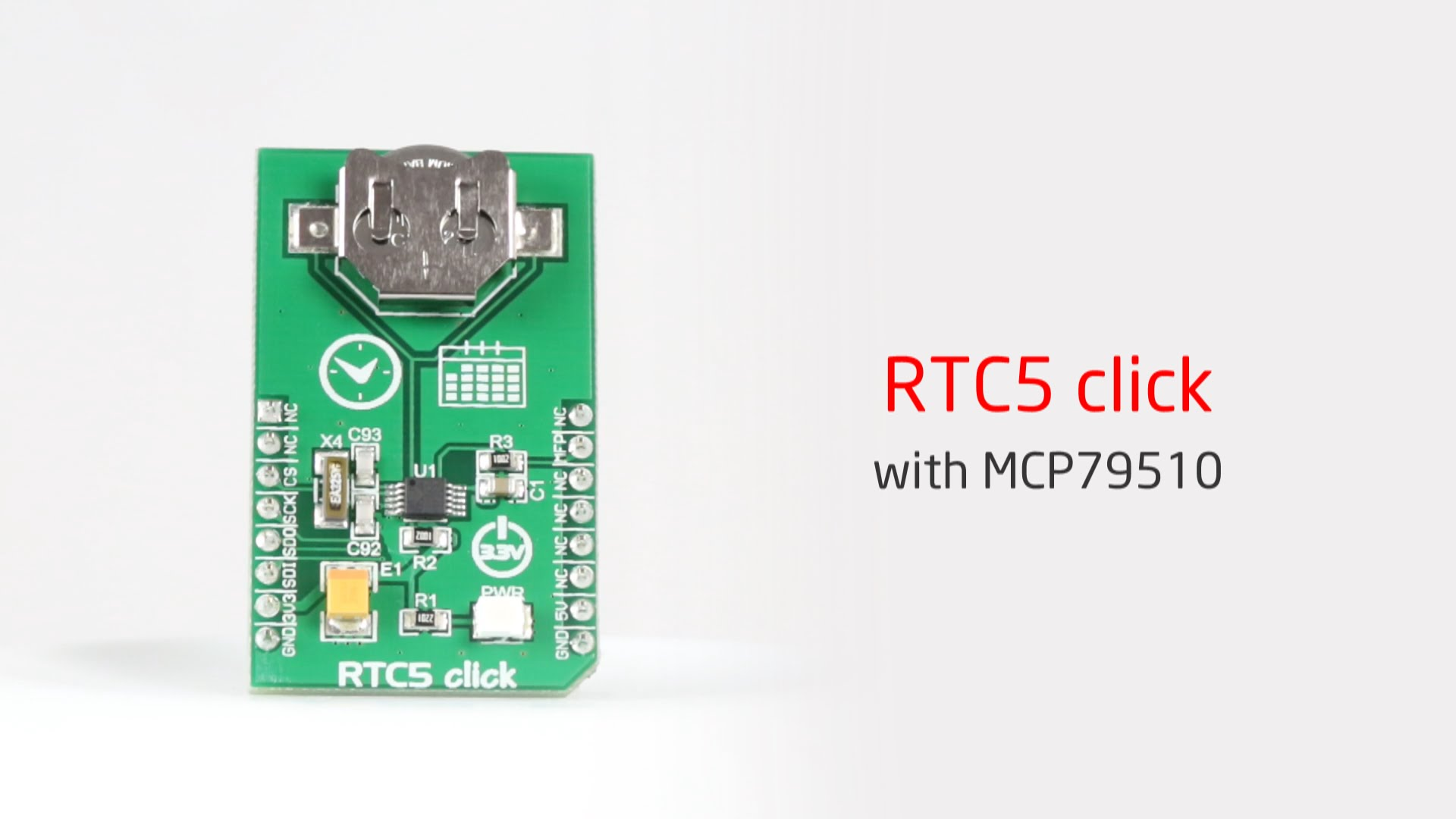 From milliseconds to leap years with RTC5 click