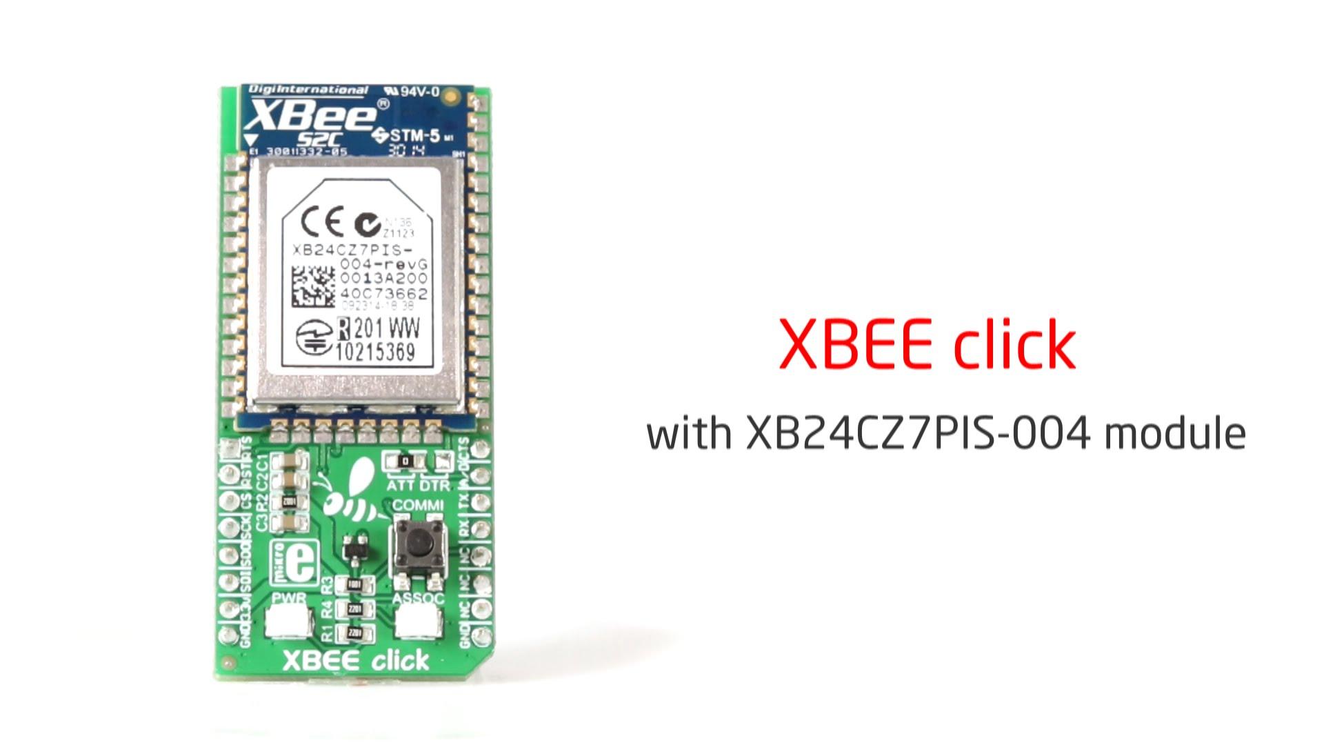 XBee click released