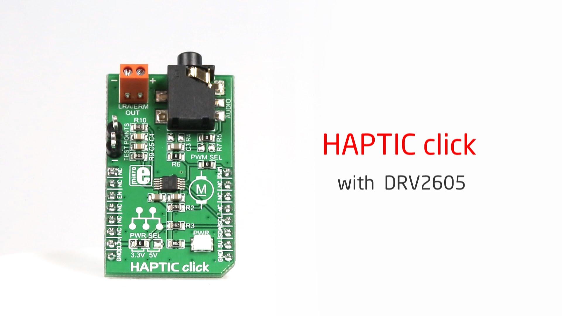 Haptic click released