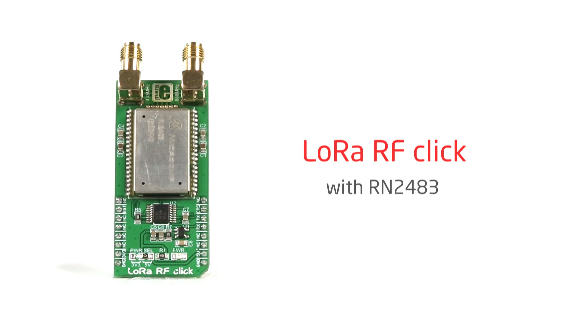LoRa RF click released