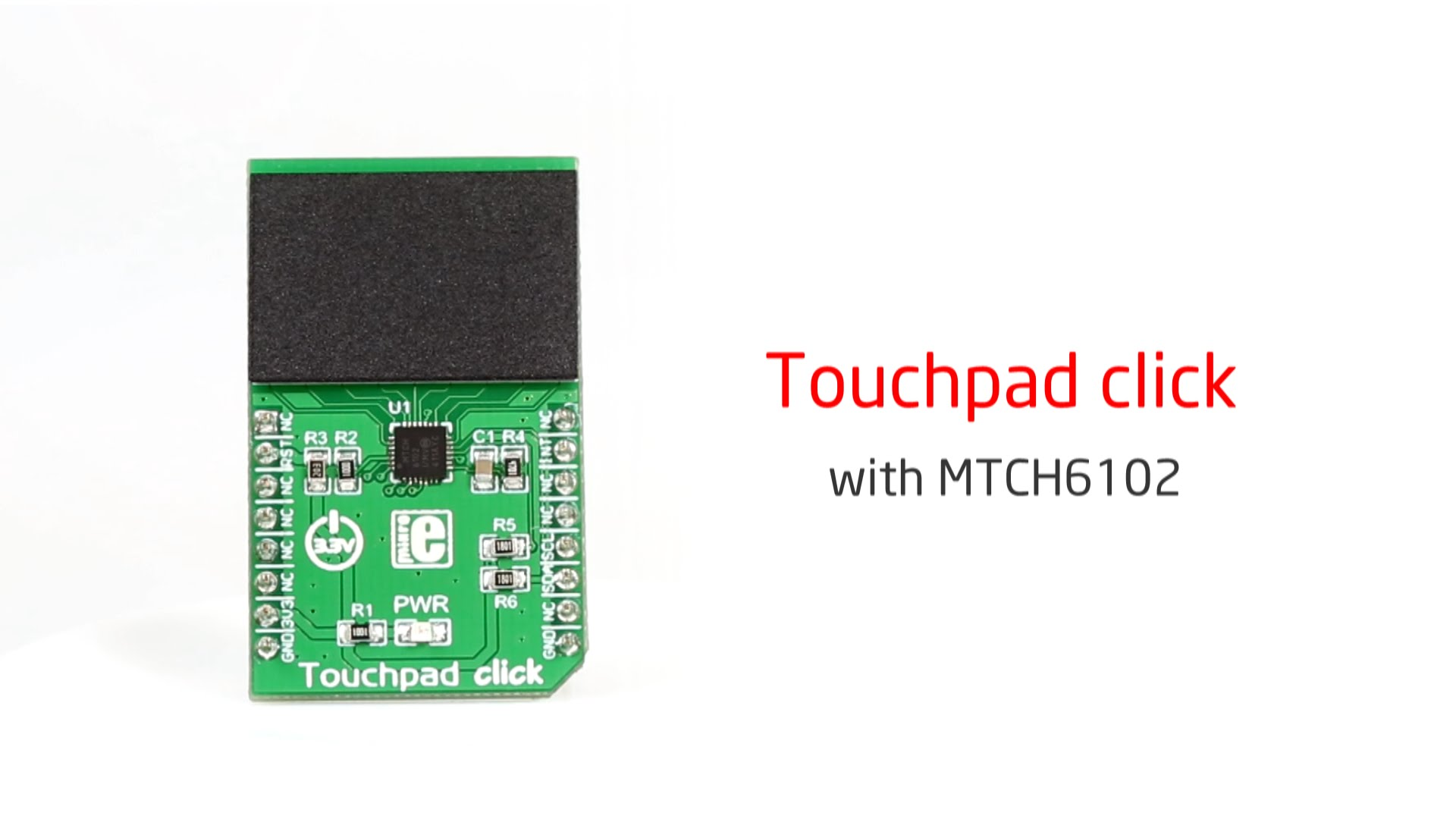 Touchpad click released