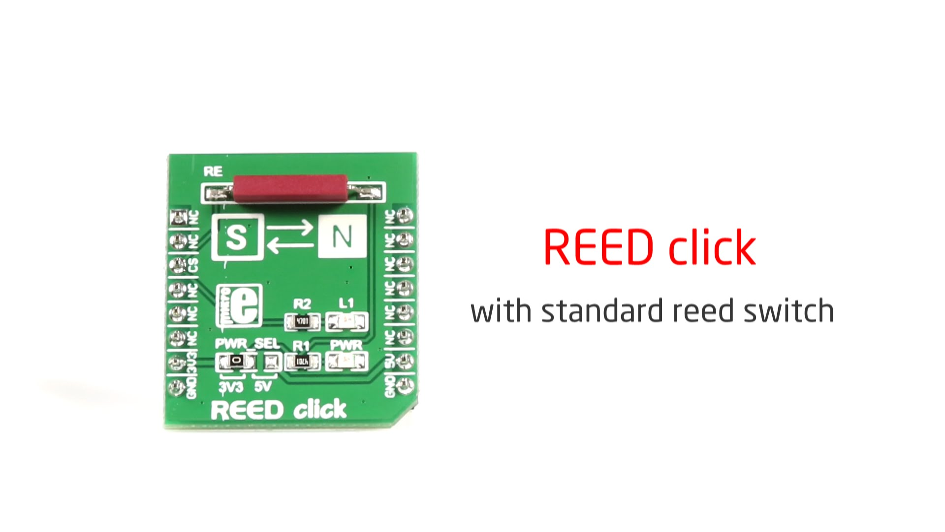 Reed click released
