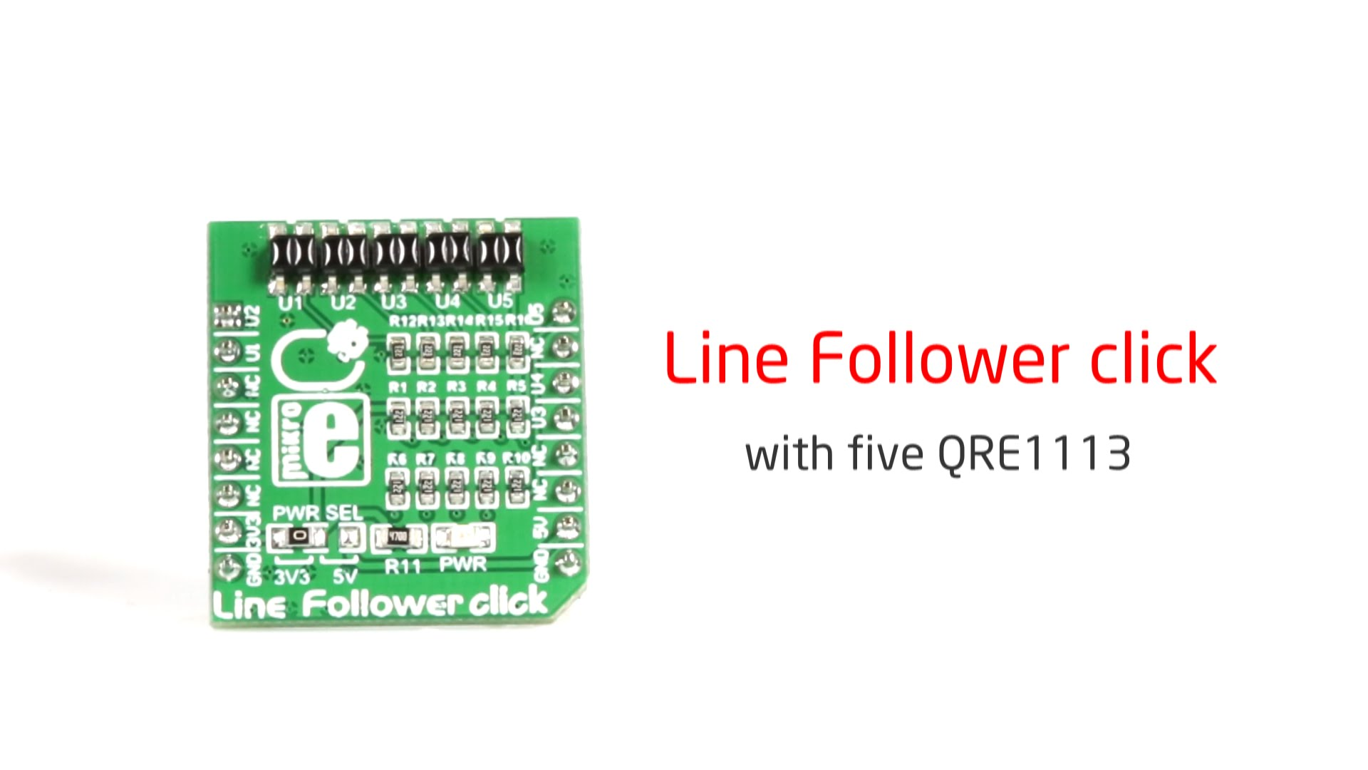 Line Follower click released
