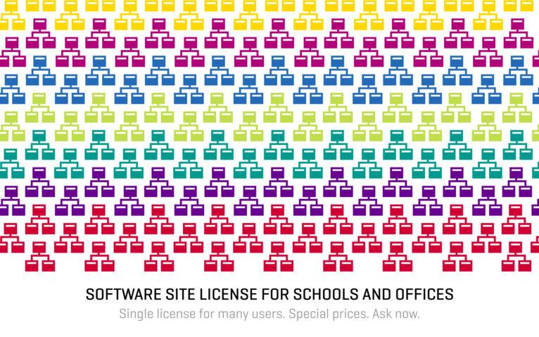 Site License banner