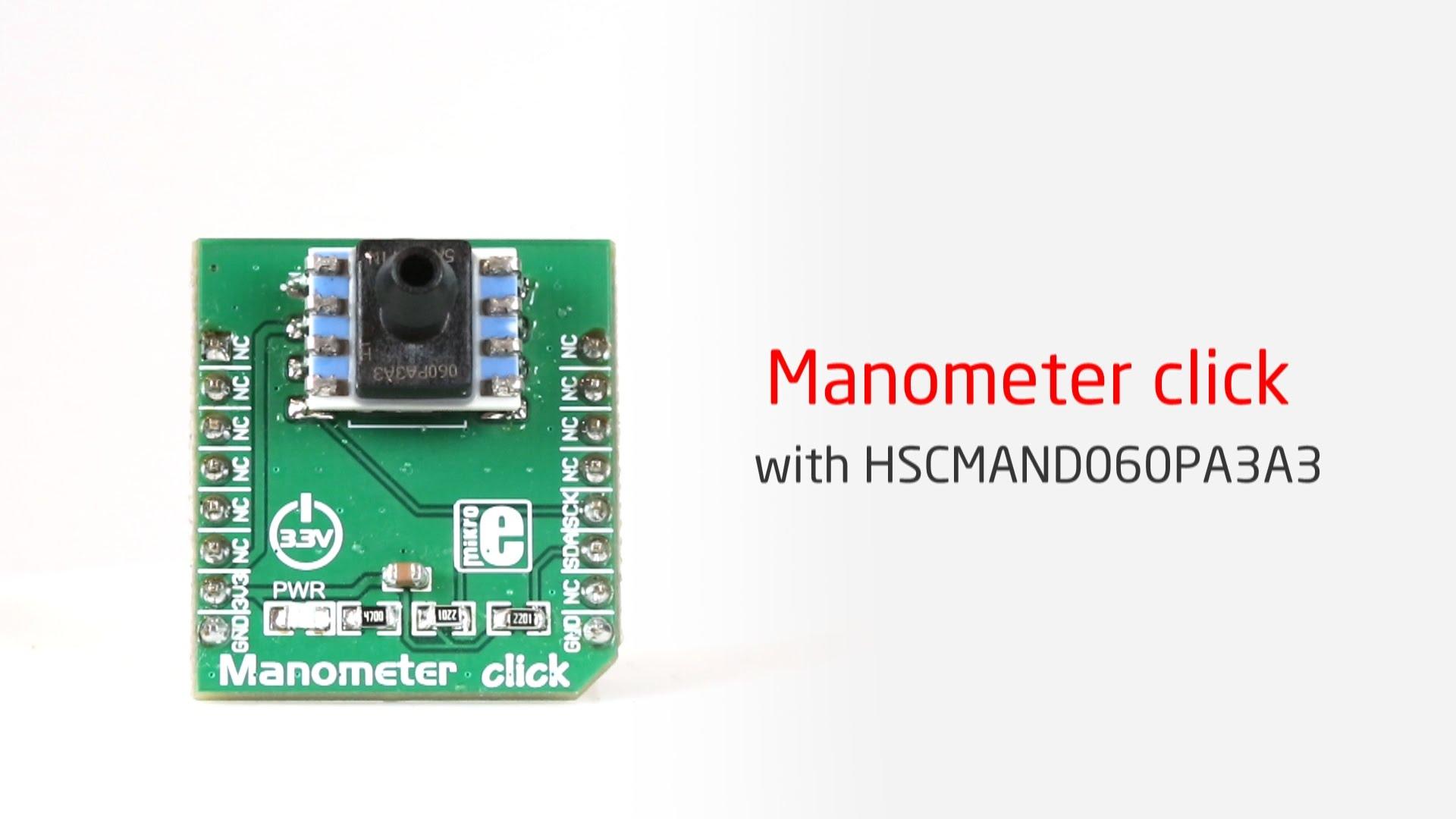 Honeywell's industrial grade sensor on a click board