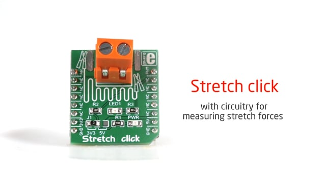 Stretch click pulled... then released