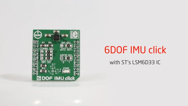 New version of 6DOF IMU click released