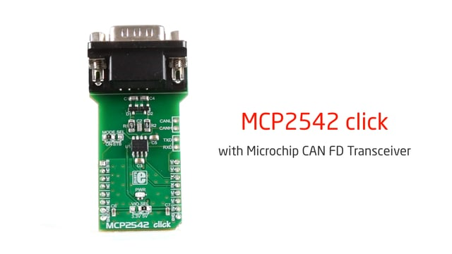 MCP2542 click released