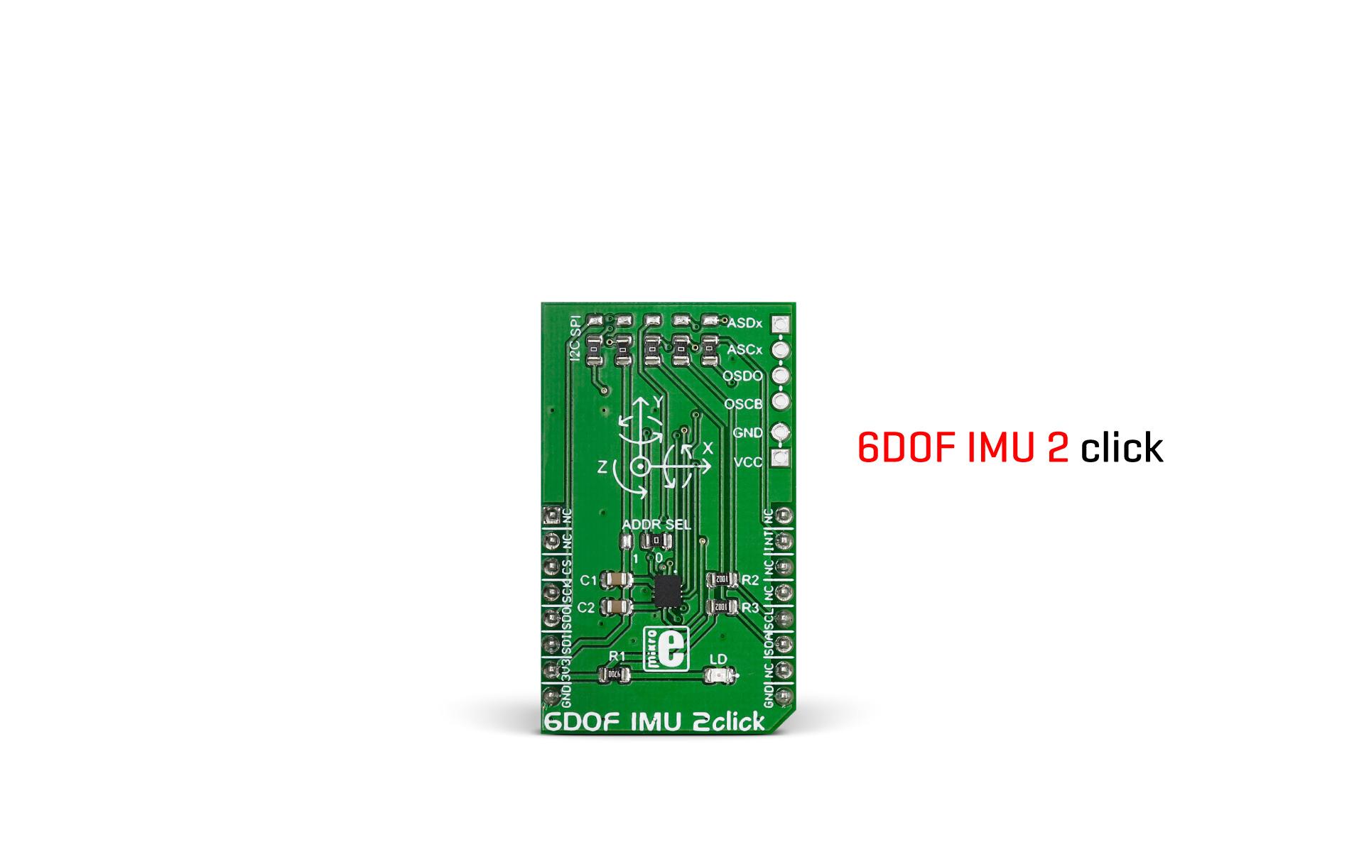 6DOF IMU 2 click released