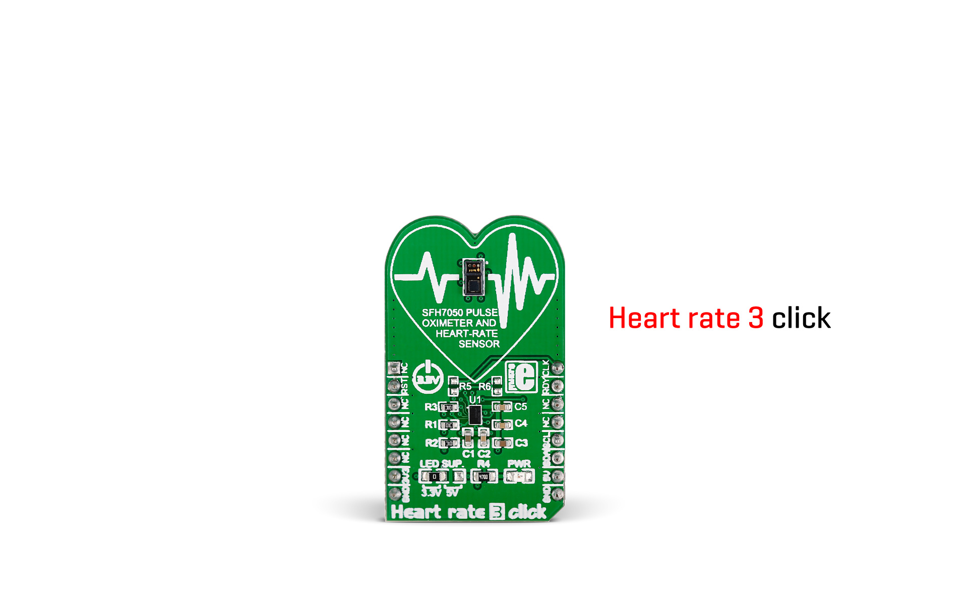 Heart rate 3 click released