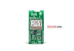 cc3100 click board released