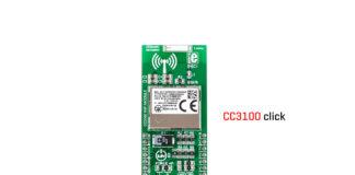 cc3100 click board released