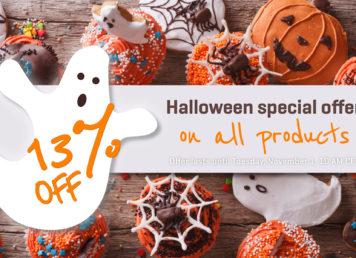 halloween special offer