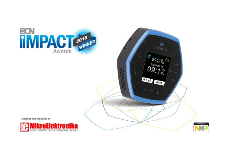hexiwear ecn impact award