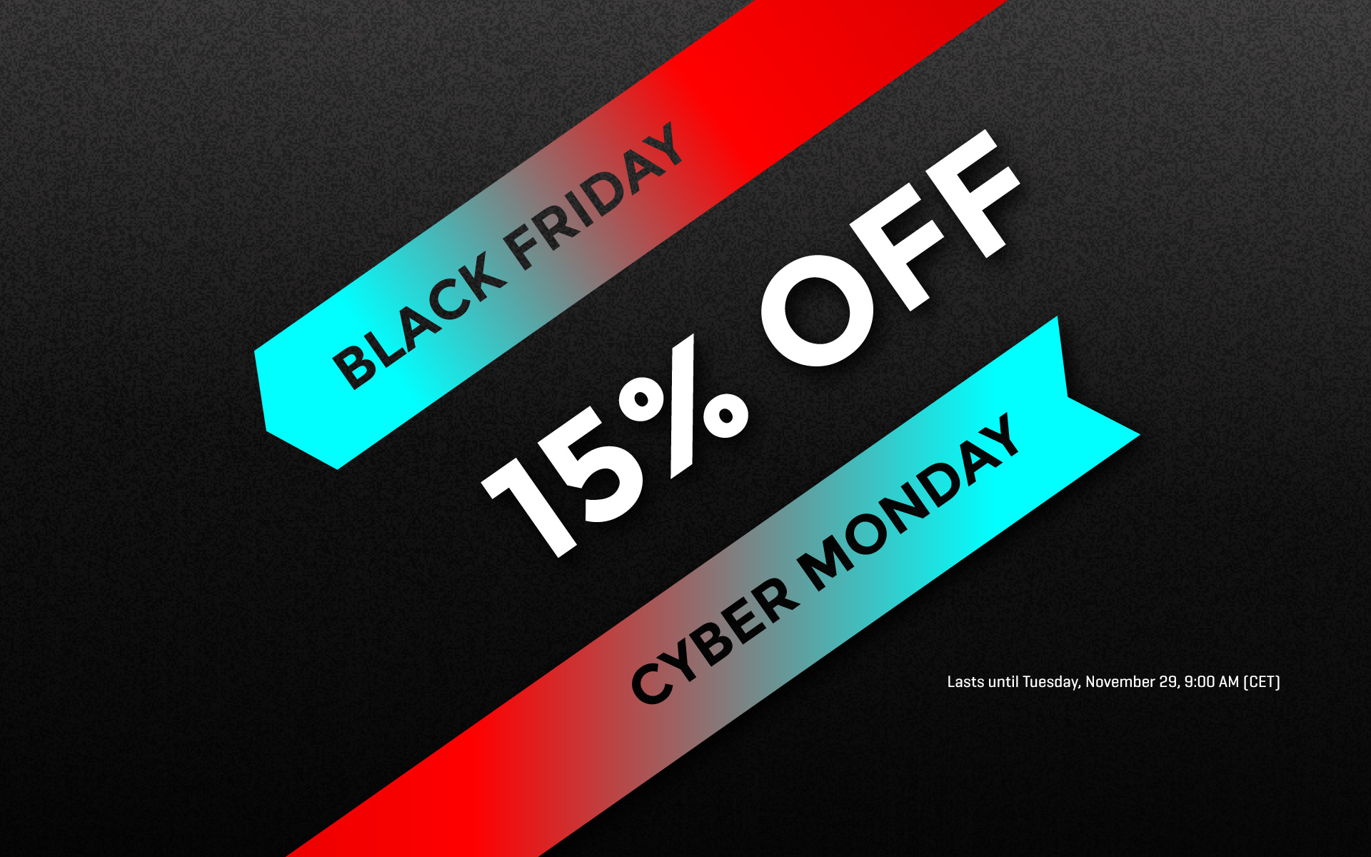 Black Friday-Cyber Monday discount