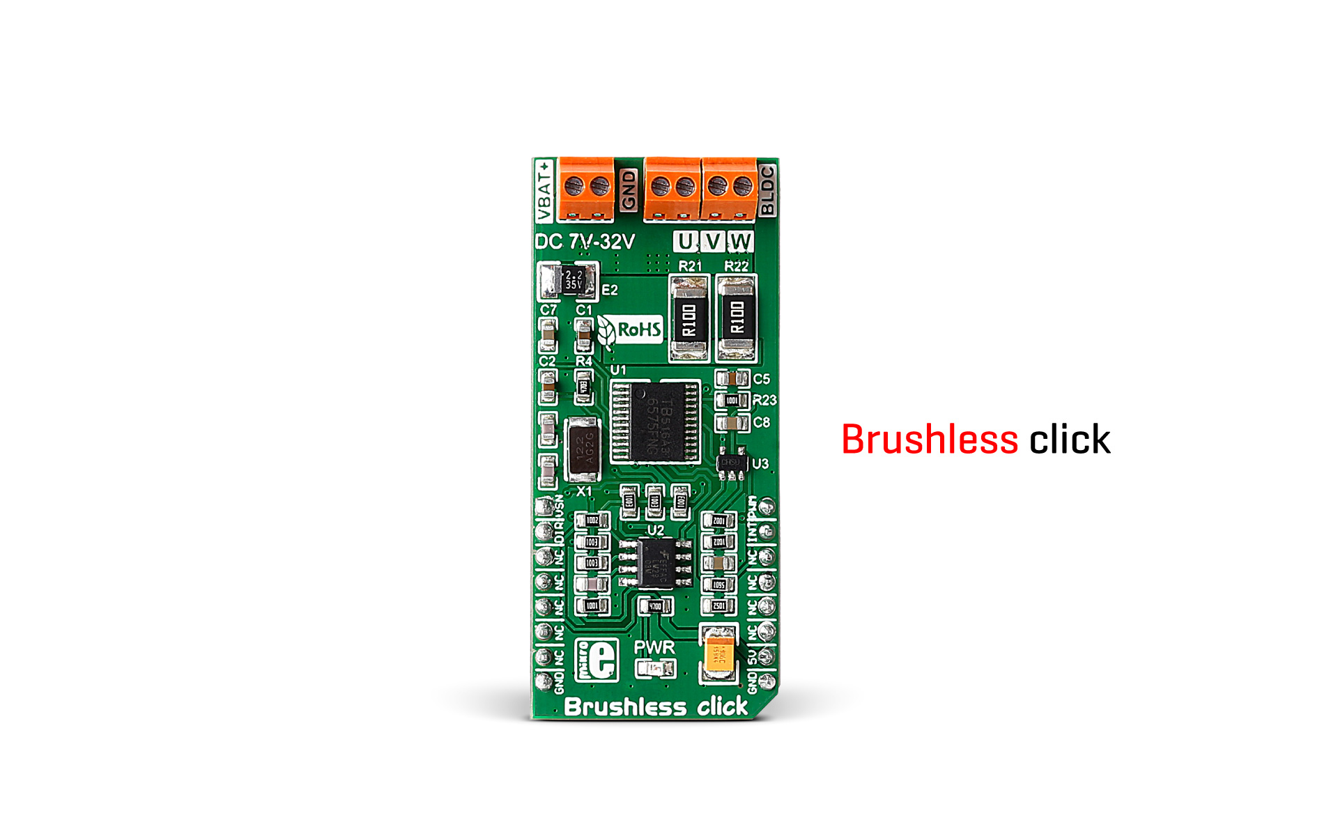 Brushless click released