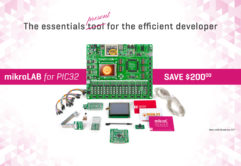 mikrolab pic32 offer development board