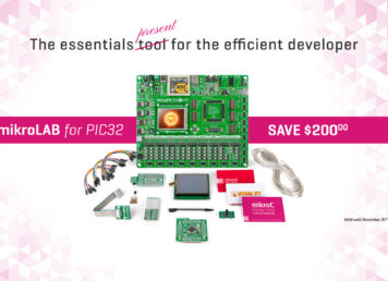 mikrolab pic32 offer development board