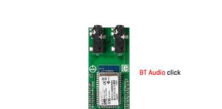 BT Audio click board released