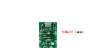 ata663211 click board relesed