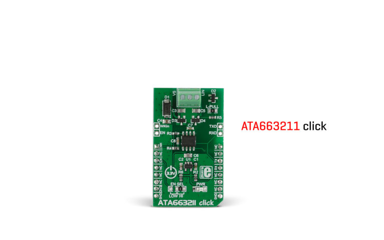 ata663211 click board relesed
