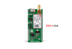 gsm 4 click board released