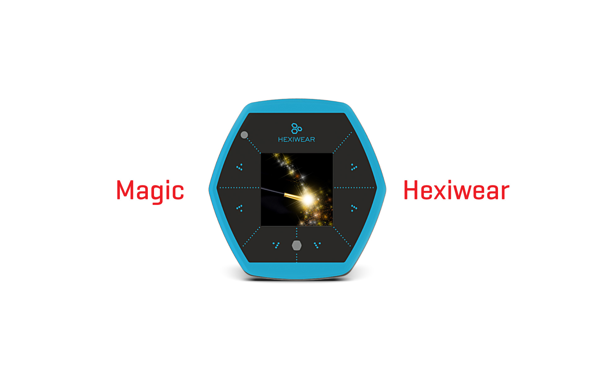 Hexiwear turns into a magic machine