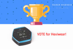 vote for hexiwear on maker madness