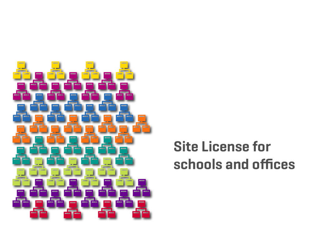 site licenses for schools and offices