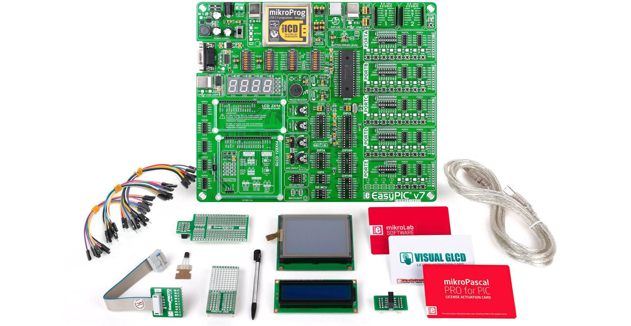 mikroPascal mikroLab kit
