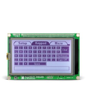 SmartGLCD 240x128 Development Board