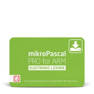 mikroPascal PRO for ARM Electronic License