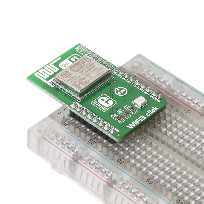 click Board In Breadboard