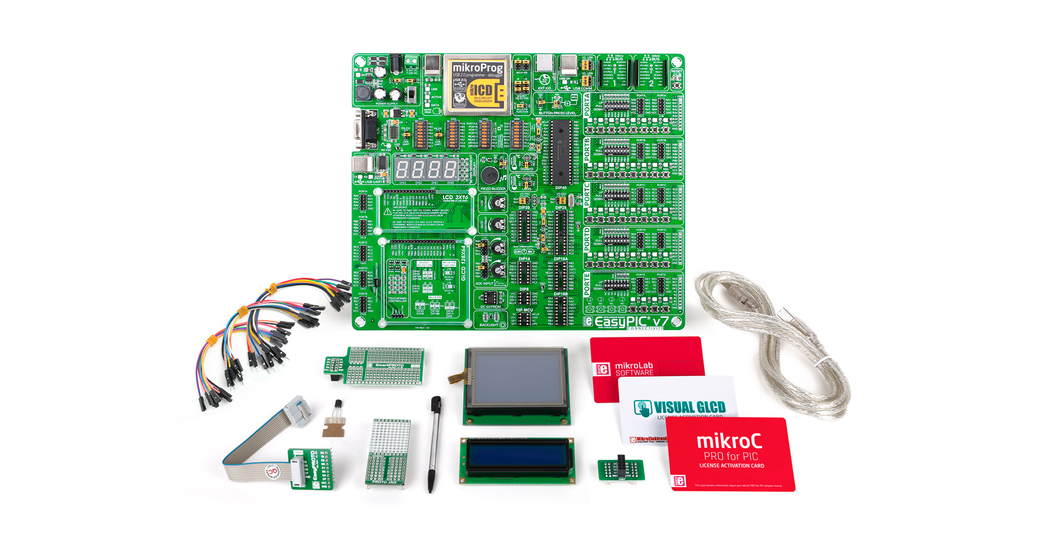 mikroC mikroLab Kits