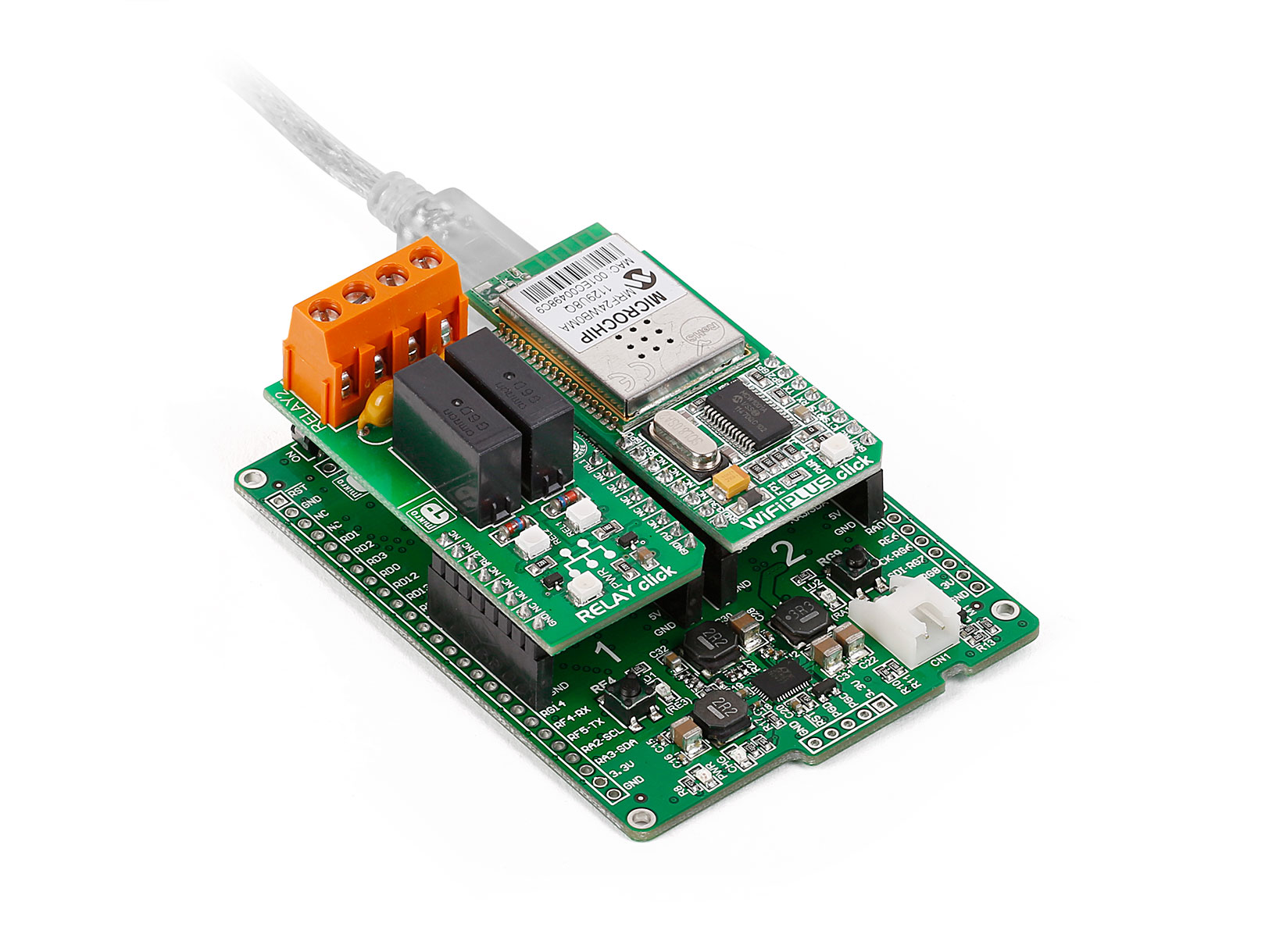 Clicker 2 Development Board