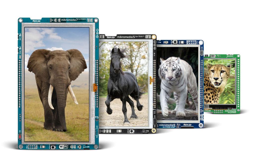 mikromedia Smart Displays