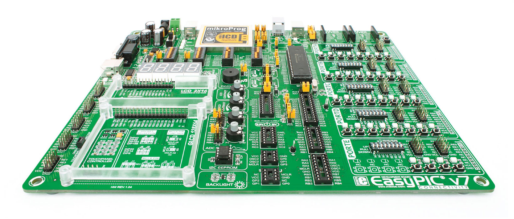 Easy Microcontroller Development Boards