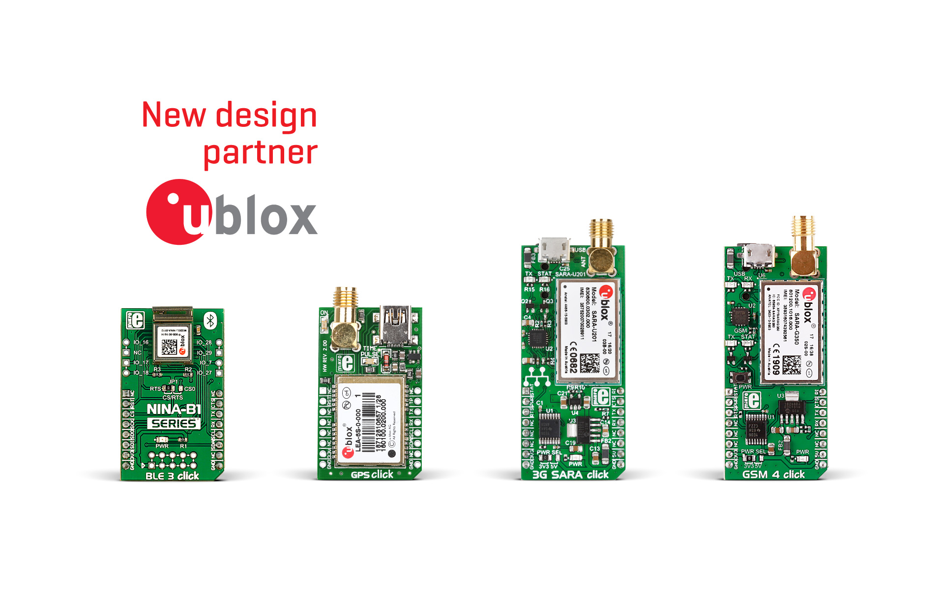 u-blox is our new design partner