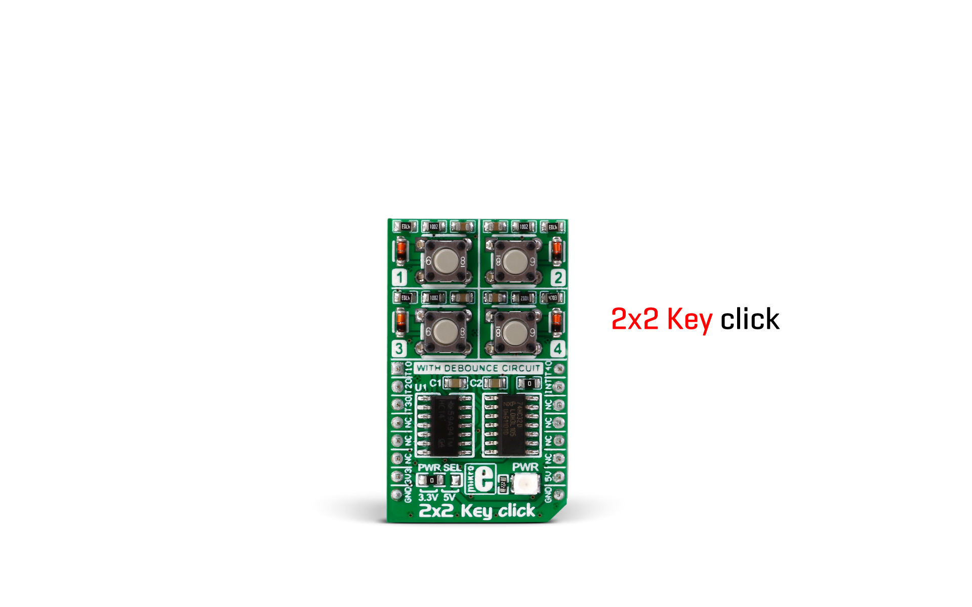 2x2 Key click is out