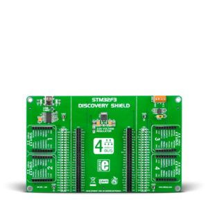 stm32f3 discovery click shield